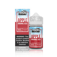 Reds Apple ICED E Juice - Vape 7 Daze