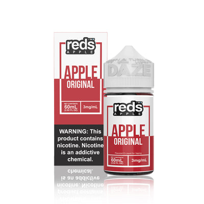 Reds Apple E Juice by Vape 7 Daze