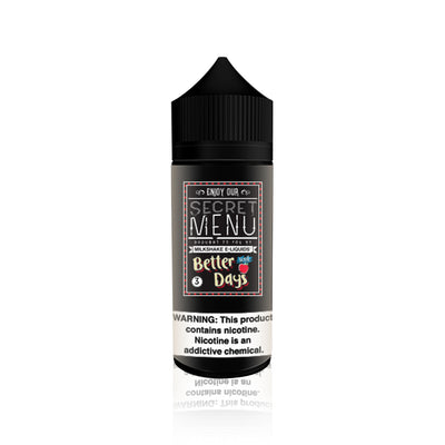 Better Days Iced - Secret Menu by Milkshake E Liquids
