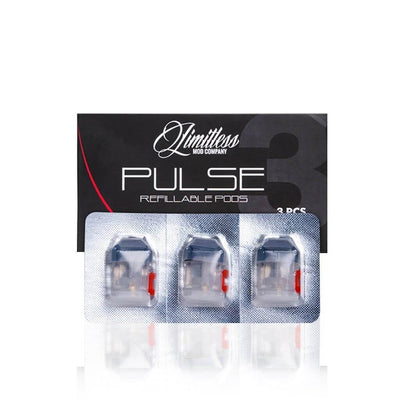 Pulse Replacement Pods (3 Pack) - Limitless Mod Co.