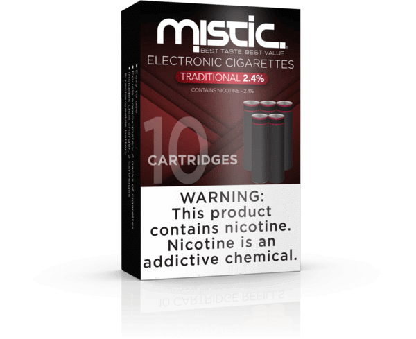 Traditional Black Edition Replacement Cartridges – Mistic