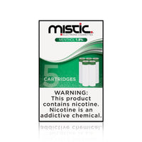 Menthol Replacement Cartridges - Mistic