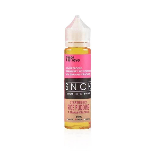 Strawberry Rice Pudding & Graham Cracker - SNCK E Liquid