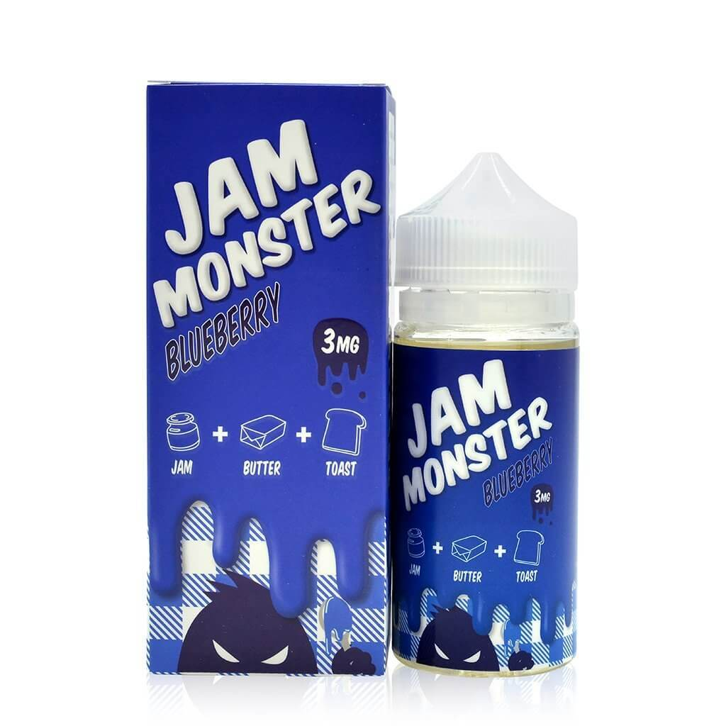 Blueberry - Jam Monster E Liquid