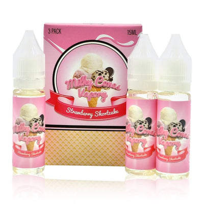 Strawberry Shortcake - Milky Cones Vapory