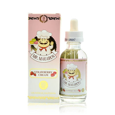 Strawberry Cream - Mr Macaron E Liquid