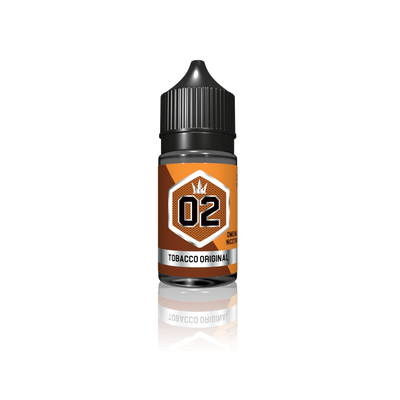 Silver 02 Tobacco Original – Crown E Liquid