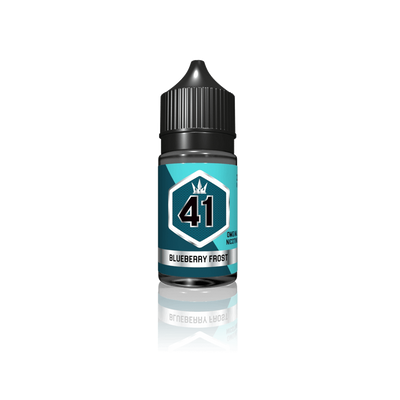 Silver 41 Blueberry Frost - Crown E Liquid