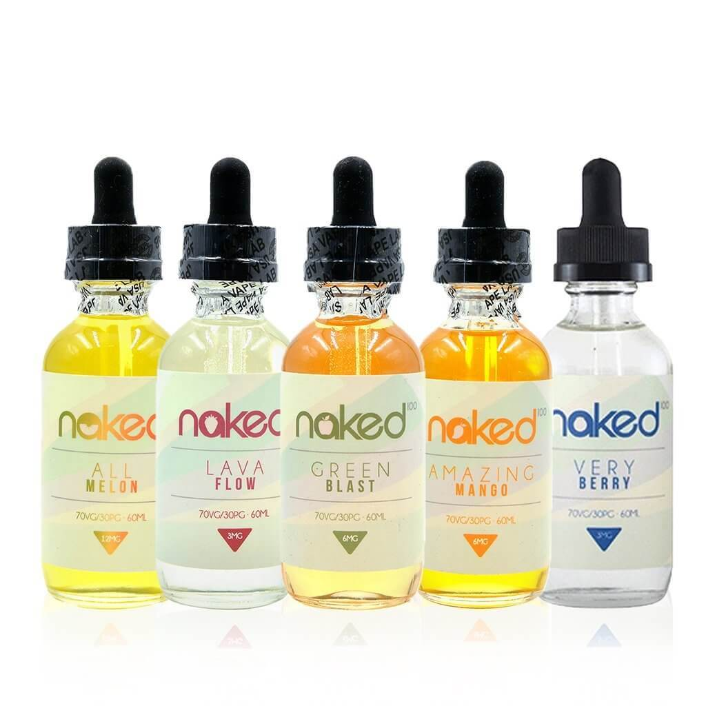 Naked 100 E Juice Bundle (360ml)
