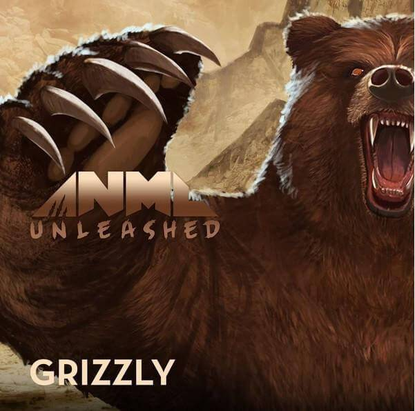 Grizzly - ANML Unleashed E Liquid - E Juice - Breazy