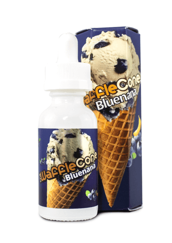 Bluenana - The Waffle Cone E Liquid - E Juice - Breazy