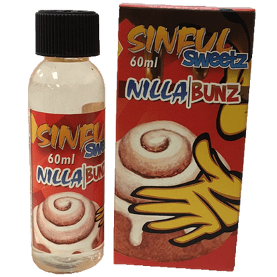 Nilla Bunz - Sinful Sweetz E Liquid - E Juice - Breazy