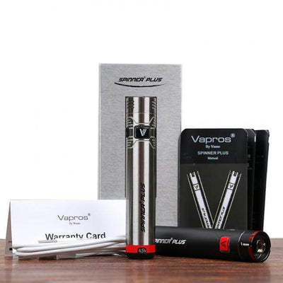 Vision Spinner Plus 1500mah Battery - Vapros - Accessories - Breazy