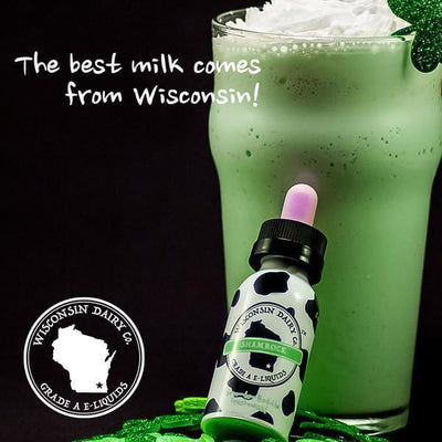 Shamrock - Wisconsin Dairy Co. - E Juice - Breazy