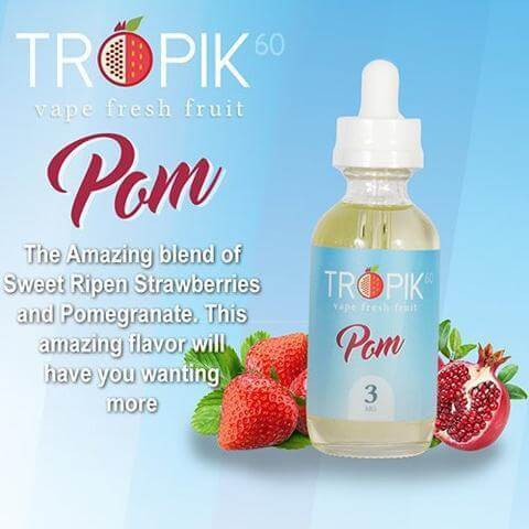 Pom - Tropik 60 E Liquid - E Juice - Breazy