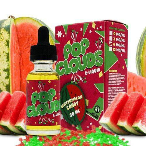 Watermelon Candy - Pop Clouds E Liquid - E Juice - Breazy