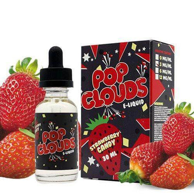 Strawberry Candy - Pop Clouds E Liquid - E Juice - Breazy
