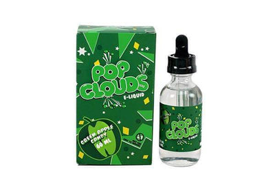 Green Apple - Pop Clouds E Liquid - E Juice - Breazy
