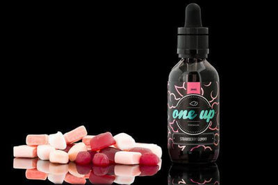 Strawberry Gummy - One Up Vapor - E Juice - Breazy