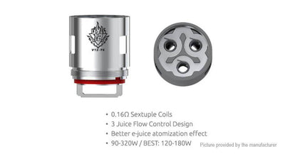 TFV12 V12-T6 0.17 Ohm Replacement Coils (3 Pack) - Smok - Accessories - Breazy