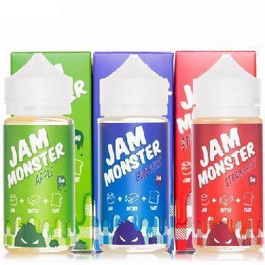 Jam Monster Bundle (300ml) - Jam Monster E Liquid - Bundle - Breazy
