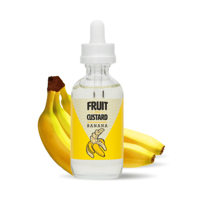Banana Custard - Fruit N Custard E Liquid