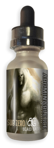 Sub Zero - Abominable Ice - Beard Gains - E Juice - Breazy