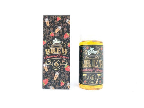 Strawberry Brew Frappe - Juice Roll Upz E Liquid - E Juice - Breazy