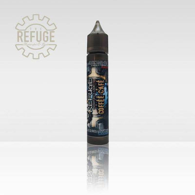 Coffee Cafe' - The Refuge ( Signature Blend) - E Juice - Breazy