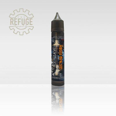 Custard Fusion - The Refuge ( Signature Blend) - E Juice - Breazy