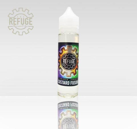 Custard Fusion  - The Refuge ( Dripper Series) - E Juice - Breazy