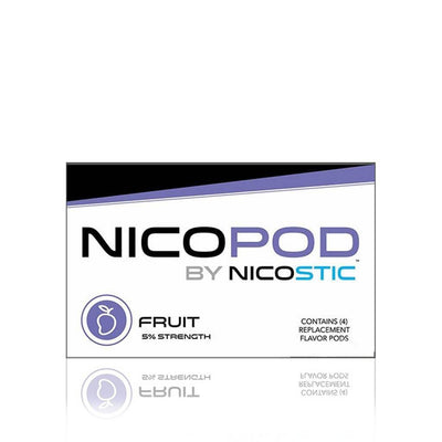 Fruit Nicopod Repacement Pods (4 Pack) - Nicostic