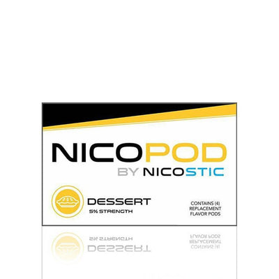Dessert Nicopod Replacement Pods (4 Pack) - Nicostic