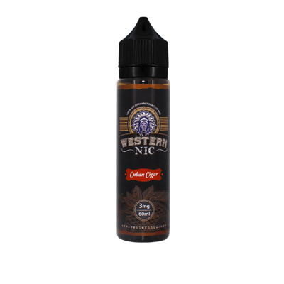 Cuban Cigar - Western Nic E Liquid - E Juice - Breazy
