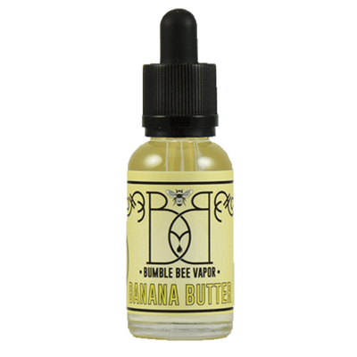 Banana Butter - Bumble Bee Vapor - E Juice - Breazy