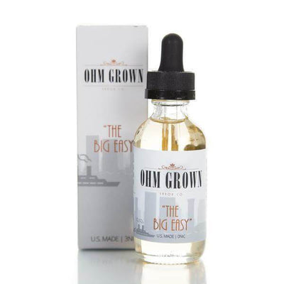 The Big Easy - Ohm Grown Vapor Co. E Liquid - E Juice - Breazy