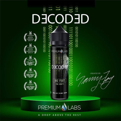 Big Foot - Decoded E Liquid - E Juice - Breazy