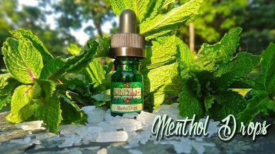 Menthol Drops 10mL - E Juice - Breazy