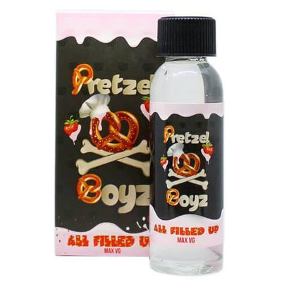 All Filled Up - Pretzel Boyz E Liquid - E Juice - Breazy