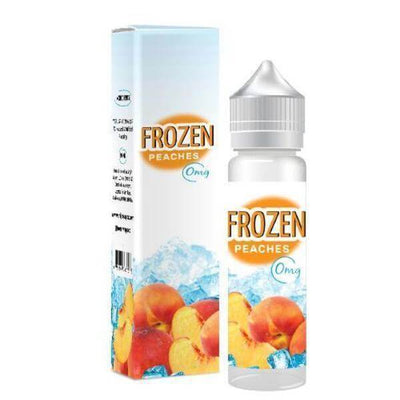 Frozen Peaches - Frozen Vape Co. E Liquid - E Juice - Breazy