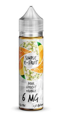 Pear Apricot Orange (60ml) - Simple E-Fruit - E Juice - Breazy
