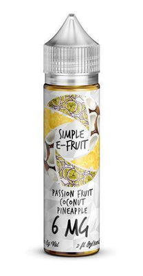 Passionfruit Coconut Pineapple (60ml) - Simple E-Fruit - E Juice - Breazy