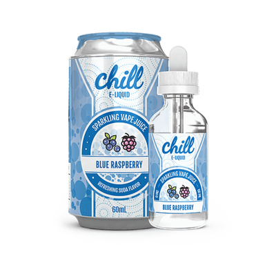 Blue Raspberry - Chill E Liquid - E Juice - Breazy