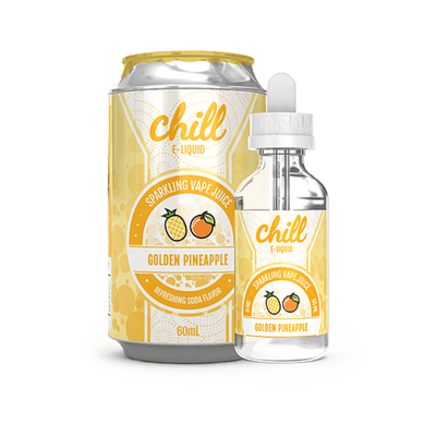 Golden Pineapple - Chill E Liquid - E Juice - Breazy