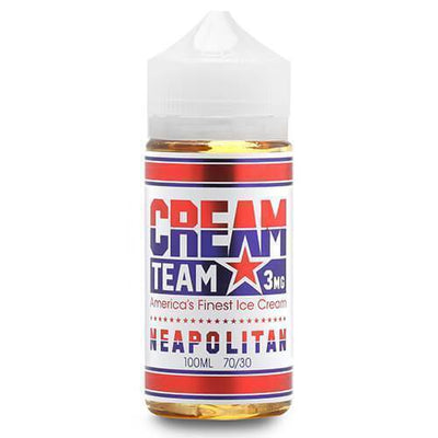 Neapolitan - Cream Team E Liquid - E Juice - Breazy