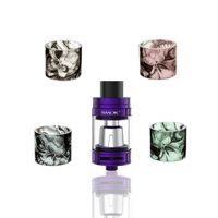 Custom Painted TFV8 Baby Beast Replacement Glass - Skulls - VCG Hip Squad Customs