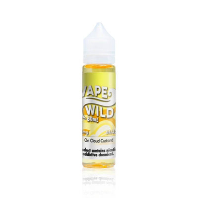 On Cloud Custard - Vape Wild E Liquid