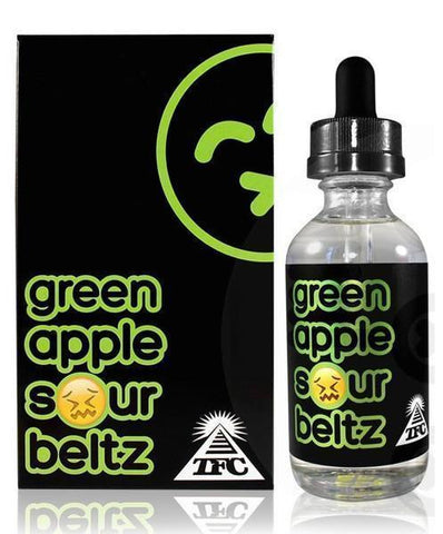 Green Apple Sour Beltz - TFC Elixir E Liquid