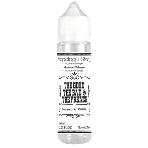 The Good, The Bad, The French - Vapology Story E Liquid