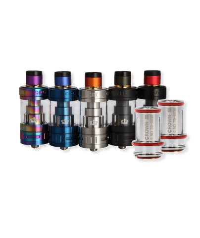 Uwell Crown V3 Sub Ohm Tank & Coil Pack Bundle - Uwell